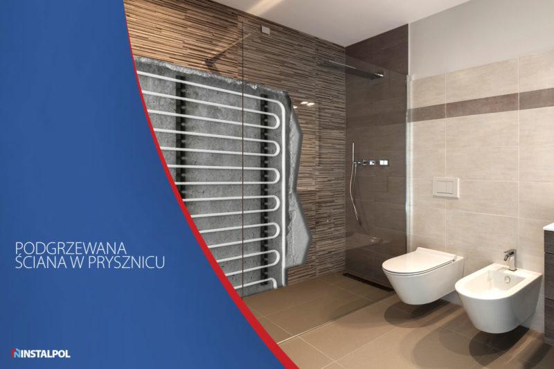 Bielsko instalacje - podgrzewana ściana w prysznicu